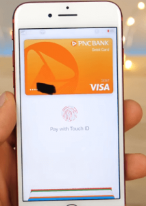 New Apple Pay Interface in the Wallet