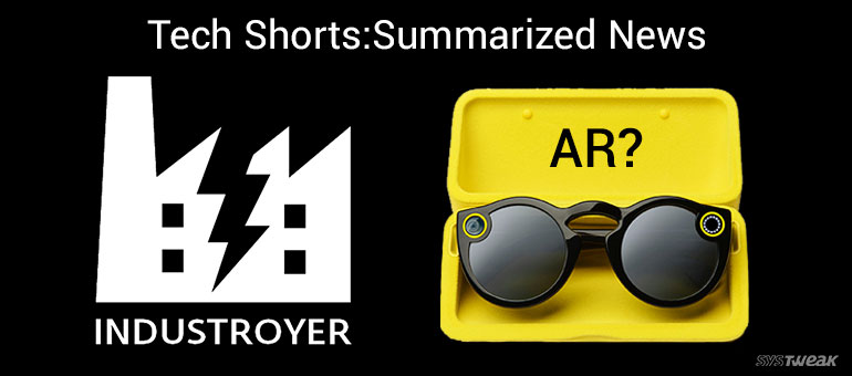 Newsletter: New Electricity Hogging Cyber Weapon & Snapchat AR Spectacles
