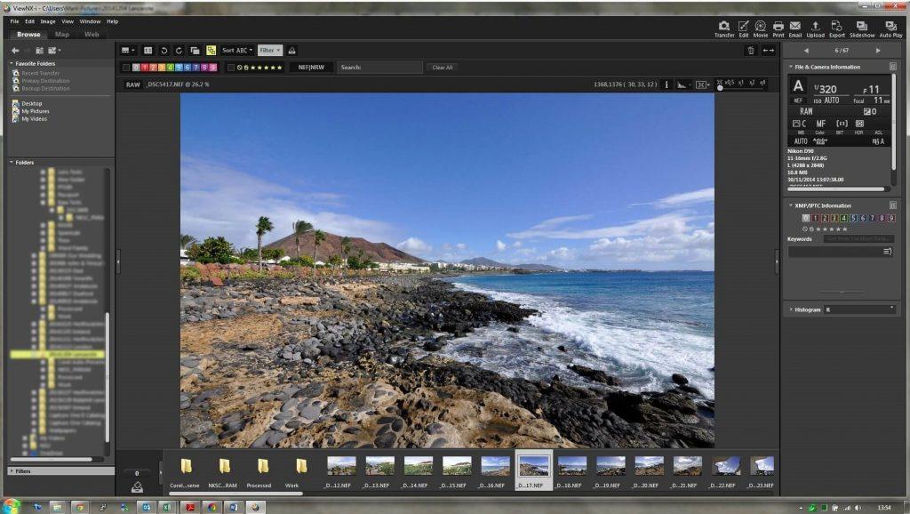 Nikon ViewNX-i - picture organizer