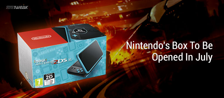 Nintendo's New $150 2DS XL Console, Reaching Stores on July 28