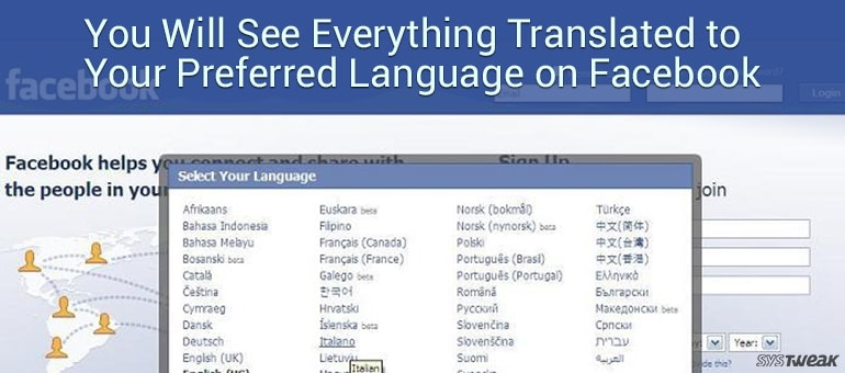 Now See Everything Translated to Your Preferred Language on Facebook