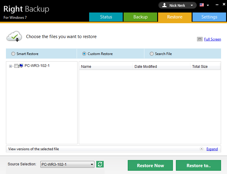 Online Cloud backup tool for ransomware