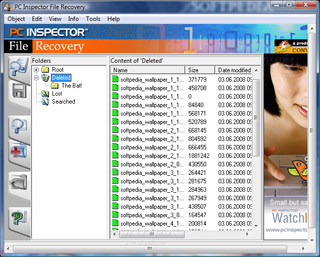pc inspector file recovery software