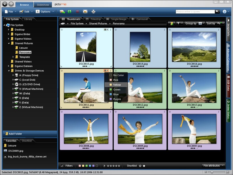 Pictomio Image Management