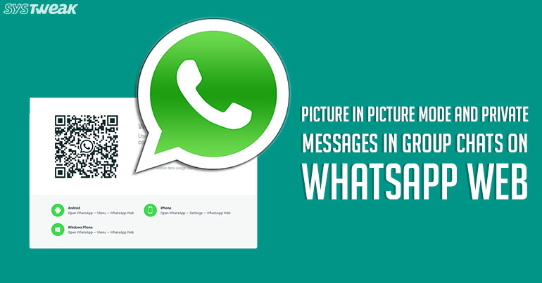 WhatsApp Web All Set to Introduce Exciting New Features