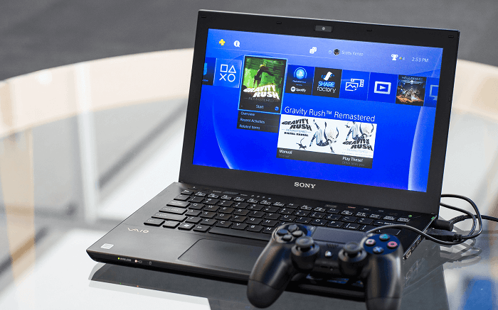 Play PS4 games on PC or MAc