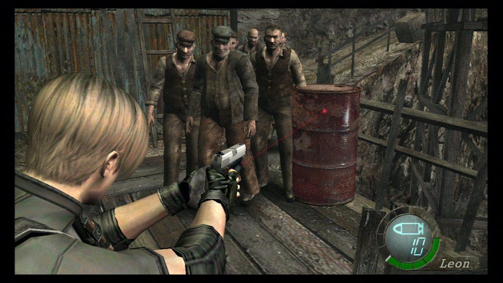Resident Evil 4 on Nintendo Switch