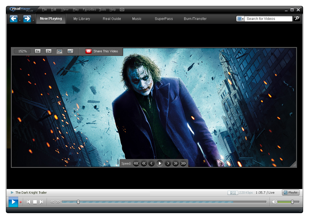 hd video player software for windows 7