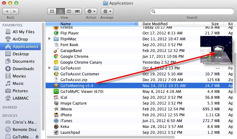 Remove Unnecessary Programs on mac