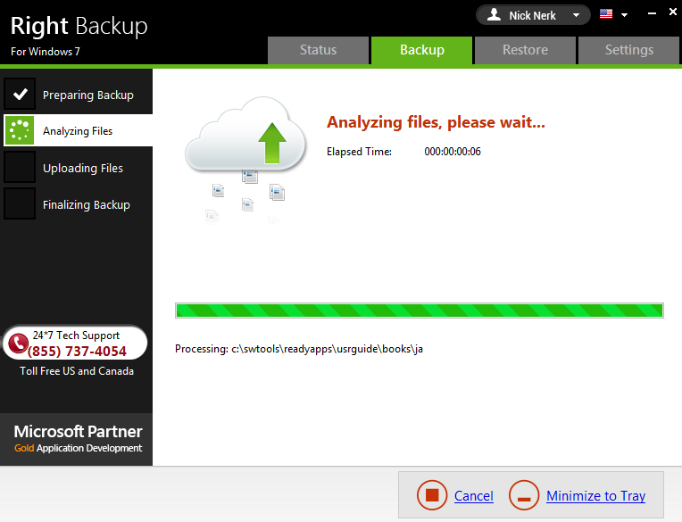 Right Backup safest place for data save on cloud