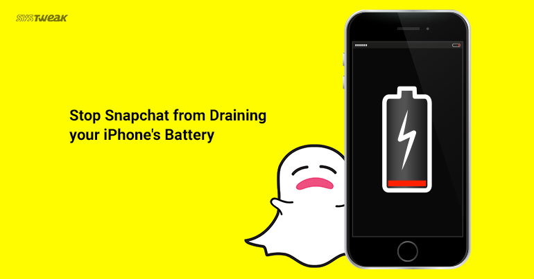 Snapchat Draining Your iPhone's Battery Life? Here's How to STOP!