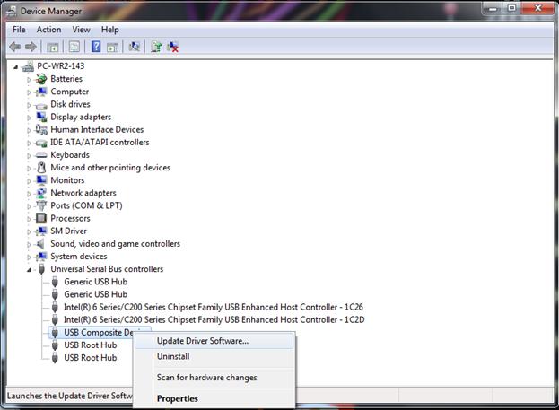 how do i reinstall usb drivers windows 7
