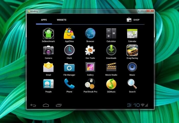 Windroy- best android emulator for pc