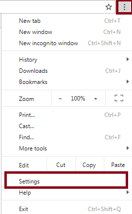 advanced settings for google chrome