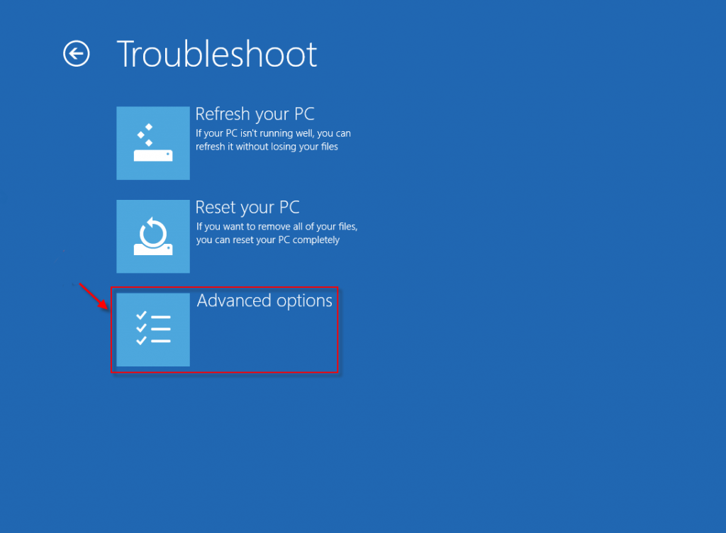 advanced-troubleshoot-in-windows-8