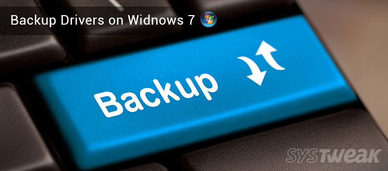 How to Backup Drivers on Windows 7