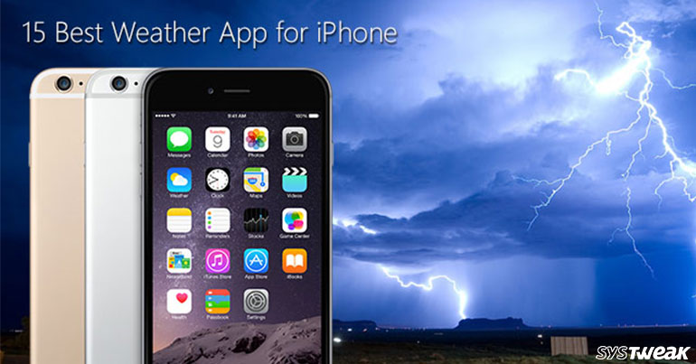15 Best Weather App for iPhone 2018