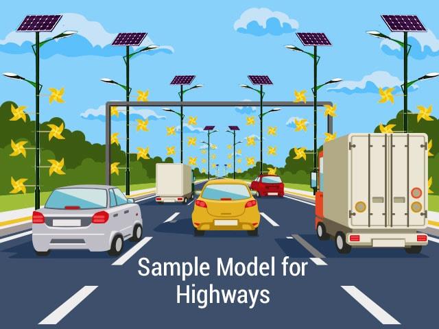 sample modal through highrway