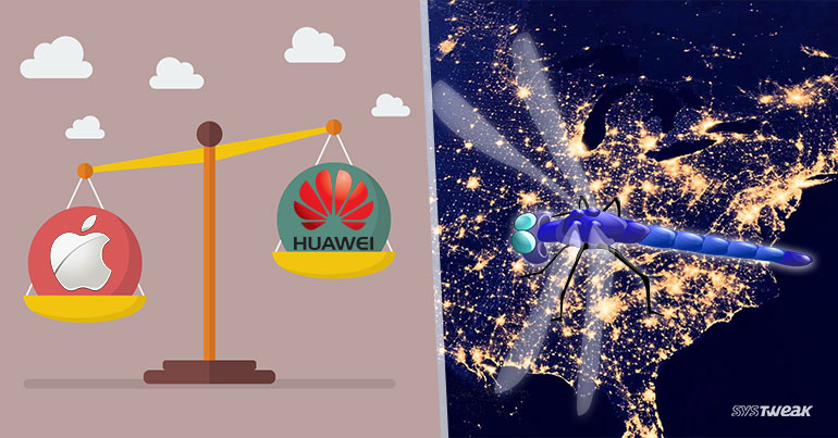 Newsletter: Huawei Topples Apple & Dragonfly's Havoc On Us Power Grids