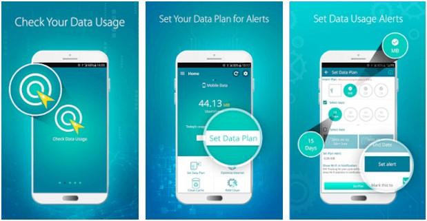 check your data usage