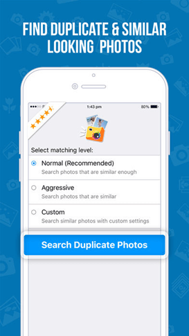 clear duplicate photos on iphone using an app