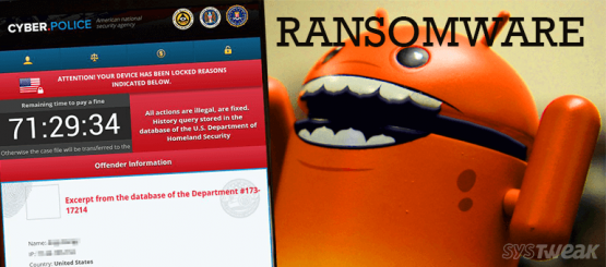 Dogspectus Android Ransomware Infect old Android Devices