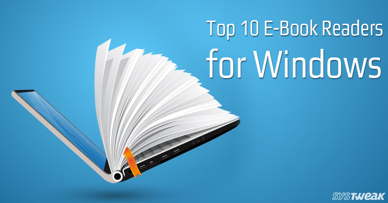 Top 10 Free E-Books Readers for Windows