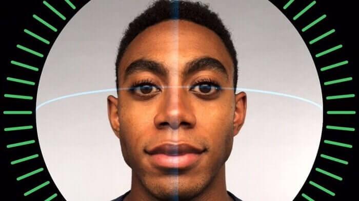 face sensor iPhone
