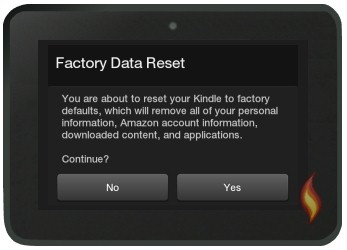 Kindle Fire Continuous Reboot