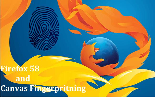 firefox f8 and canvas fingerprint