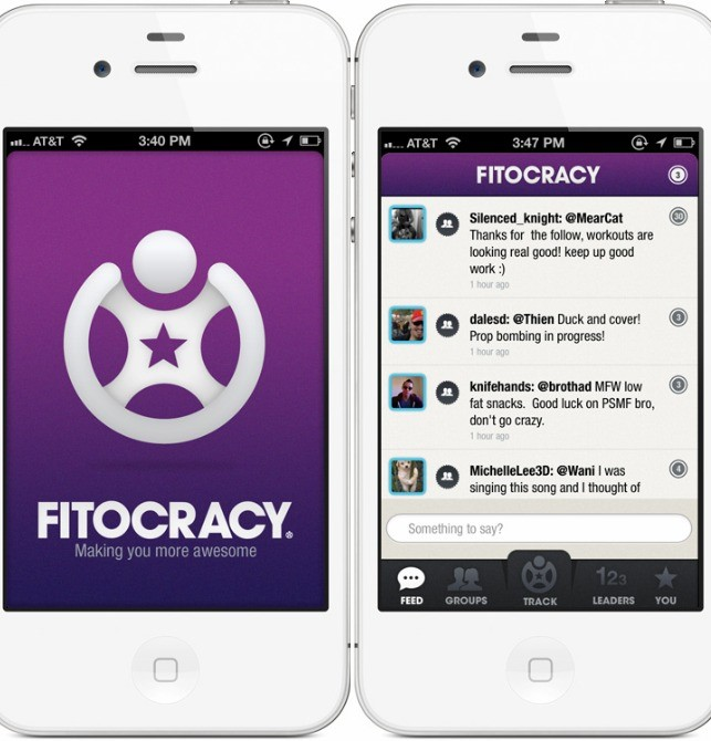 fitocracy best fitness app