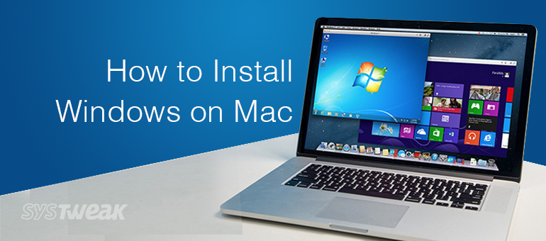 install windows on your mac