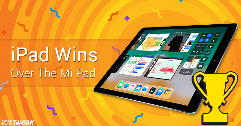 iPad Wins Over Mi Pad