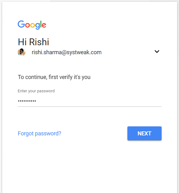 login to continue