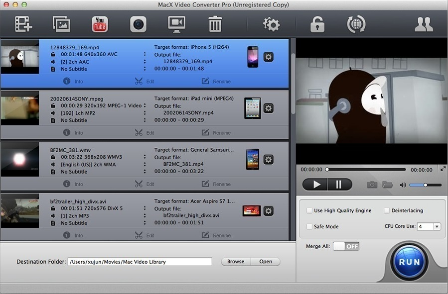 free mpeg-2 video converter for mac
