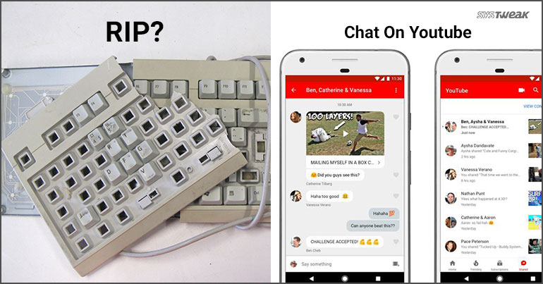 Newsletter: Typing Could Soon Be A Thing Of Past  & YouTube Adds Chat To Phone App
