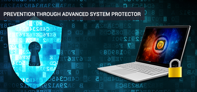 prevent through advanced system protector ransomware