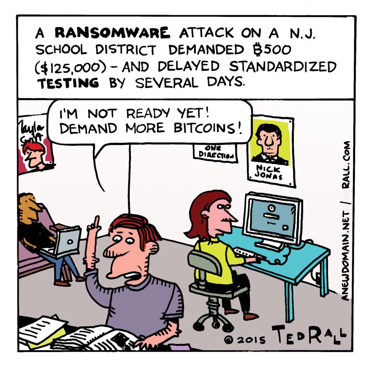 ransomware attack on school