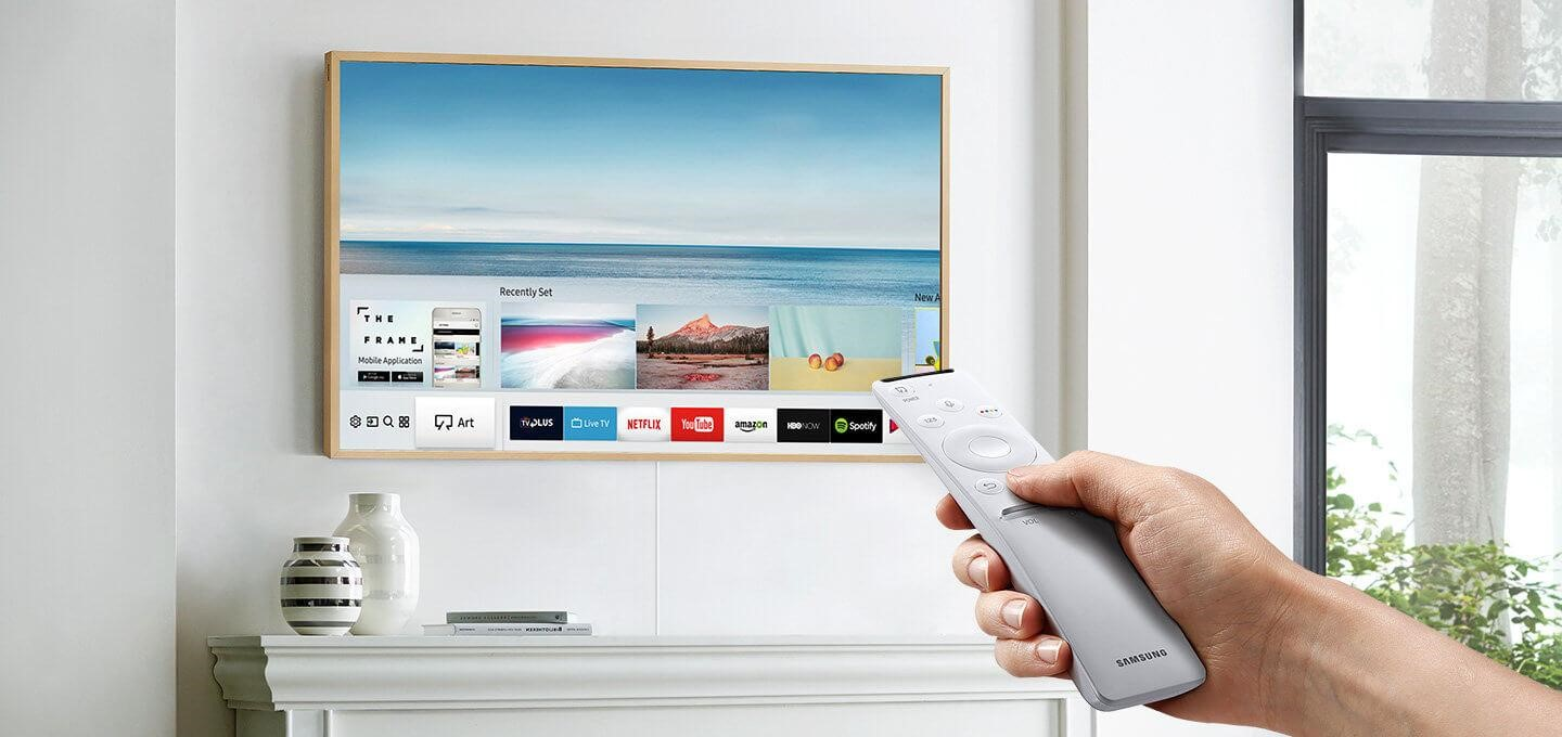 remote and ports in samsung