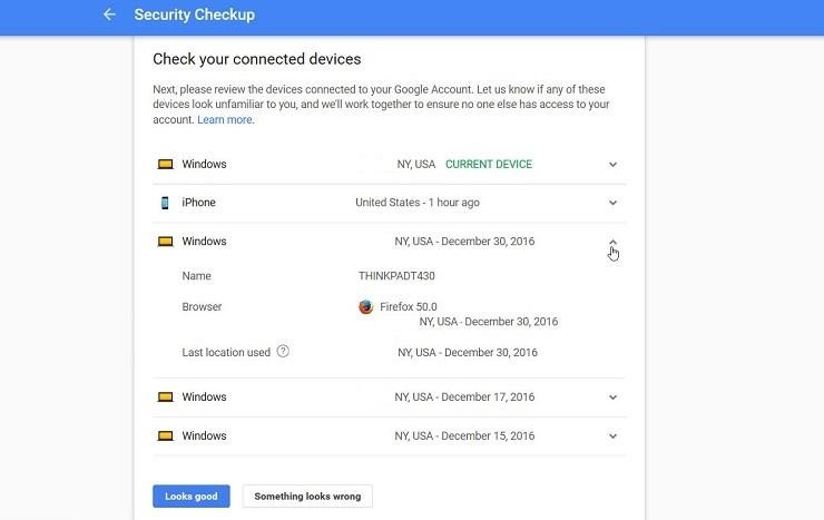 security-checkup-on-google