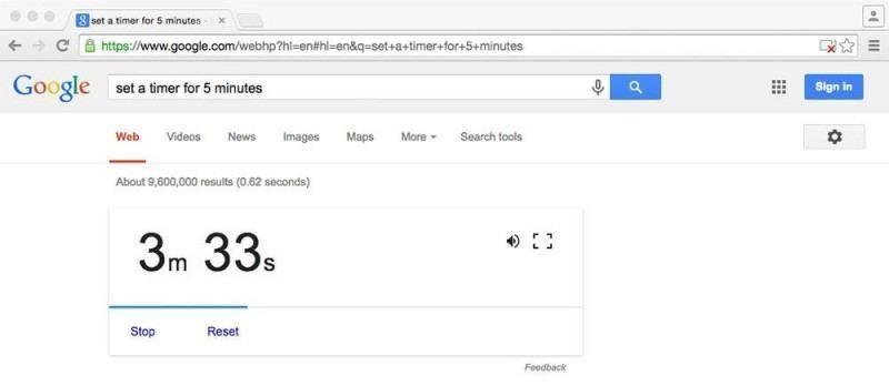 set-timer-on-google