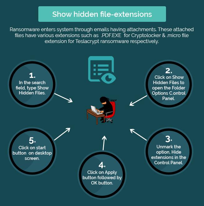 show hidden file extension
