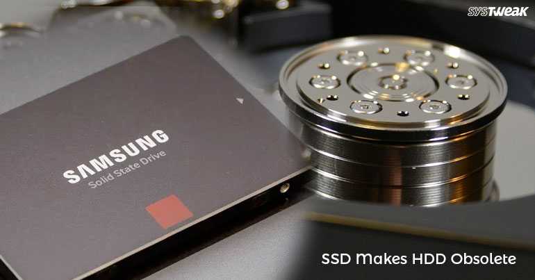 SSD Makes HDD Obsolete