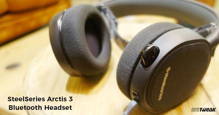 SteelSeries Unveils Arctis 3 Bluetooth Headset