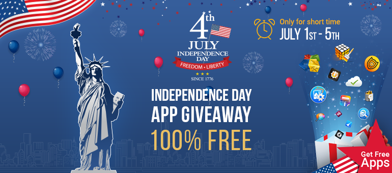 Systweak Software Offers Independence Day App Giveaway this July 4!