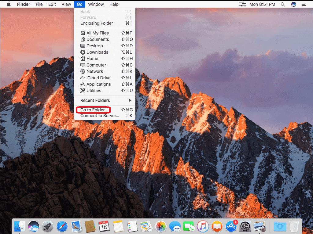 uninstall apps manually mac
