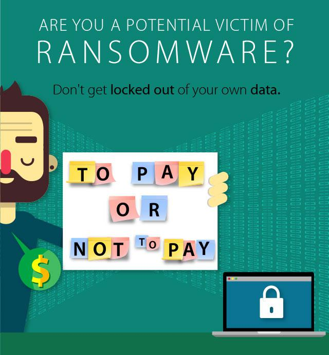 victim of ransomware virus