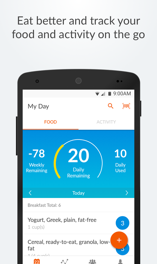 weight watchers fitness app for iphone and android