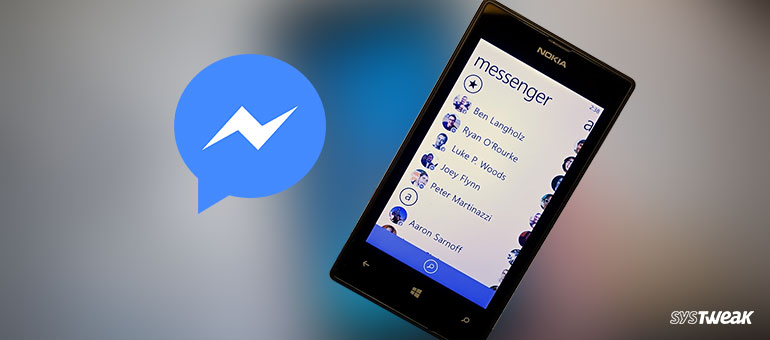 Facebook Messenger to Back out Support on a few Windows Smartphones